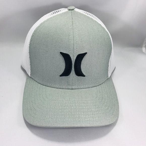 a58035c3d19c4 Hurley Men s Gray Mesh Trucker Hat Nike Dri-fit